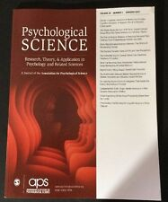 Clinical Psychological Science Volume 28 Number 1 January 2017 aps Magazine