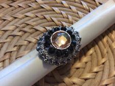 Strasssteine Modeschmuck-Ringe aus Stein