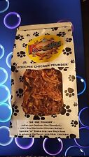Poochie Dog Treats features a 3lb Canister of 100% Real Chicken Bits For Dogs !