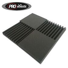 """24x AFRP """"ROOM PACK"""" Pro Acoustic Foam Treatment Tiles 12x AFW305 & 12x AFF305"""
