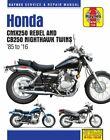 1985-2016 Honda Rebel CMX CB250 CB 250 Nighthawk HAYNES REPAIR MANUAL 2756