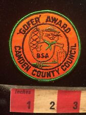 Camden County Council Gopher Award Boy Scout Patch 70T1