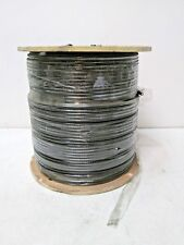 Vericom XRG06-01503 Coaxial Cable RG6 18 AWG Cooper Clad Steel 1000'