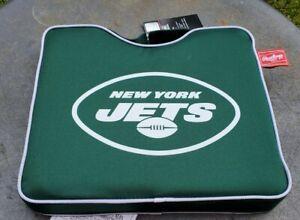New York Jets Stadium Seat Cushion Handle Padded Bleacher NFL Game Day