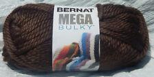 Bernat Mega Bulky Yarn in Mocha Brown #88029 - New & Smoke Free Home