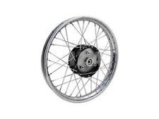 """Speichenrad 16"""" (Felge in Aluminium poliert und Nabe schwarz) S50 S51 S70 MOPED"""
