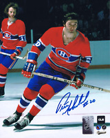 Pete Mahovlich Montreal Canadiens Autographed 8x10 Photo