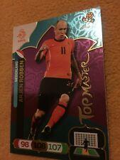 FREEPOST PANINI ADRENAYLN XL EURO 2012 ARJEN ROBBEN TOPMASTER FOOTBALL CARD 10