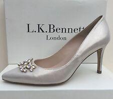 NEW Era £ 275 LK Bennett EU 39:UK6 'foley'soft Gold Shimmer gioiello CORTE-Matrimonio