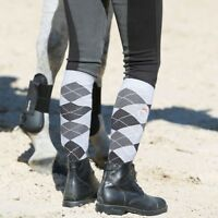 HORSE RIDING SOCKS LADIES EQUESTRIAN SOCKS RIDING SOCKS COTTON RICH UK 4-7
