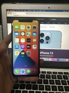 Apple iPhone X - 64GB - Silver (AT&T) A1901 (GSM)