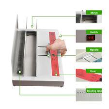 320x38mm Hot-melt Binding Machine Electric Book Binder for A3 A4 A5 A6 220V 100W