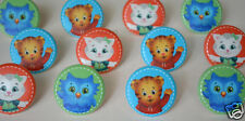 12 Daniel Tiger's Neighborhood Cup Cake Rings Topper Party Loot Bag Favor Supply