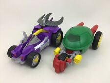 Shredder Car Stealth Bike Teenage Mutant Ninja Turtles Lot TMNT Playmates 2014
