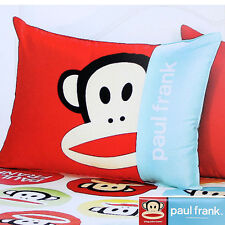 "Paul Frank 100% Cotton Bedding Zippered Pillow Cover Case 24"" - 1pc"