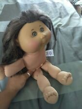 1978- 2012Cabbage Patch Kids Doll Girl Brown Hair Brown Eyes