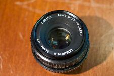 Cosina Cosinon-s 50mm F2.0 (PK mount)
