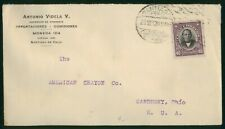 Mayfairstamps Chile 1920 Antonio Videla V to American Crayon Cover wwr_03373