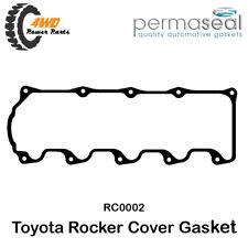 Permaseal Rocker Cover Gasket Toyota 2L 3L 5L Dyna Hilux Hiace 4 Cyl 8V RC0002