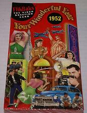 Your Wonderful Year 1952 FlikBaks VHS Video Birthday Greeting Card BRAND NEWOOP