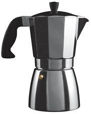 Grunwerg Induction 6 Cup Cafe Ole Italian Style Espresso Coffee Maker Aluminium
