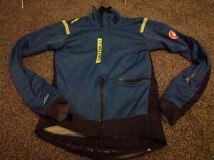 Castelli Alpha ROS jacket Size Medium Used Goretex