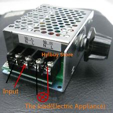 4000W AC 110V 120V SCR Voltage Adjustable Regulator Motor Speed Control Dimmer