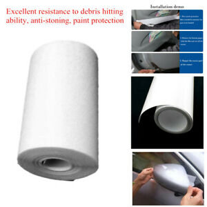 9.8M*10CM Clear Car Protective Film Anti-zoned Vinyl Bras Door Edge Paint Tool