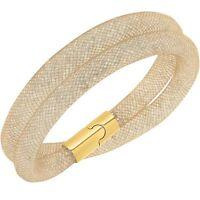 AUTH Swarovski Stardust Beige Double Bracelet 5089836 WITHOUT BOX SIZE M