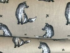 Mr Felix Fox 100% Cotton Fabric Woodland Lifestyle Range Cute Fox Wildlife