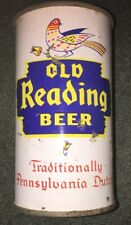 Old Reading Beer Traditionally Pennsylvania Dutch Flat Top Can Reading Pa