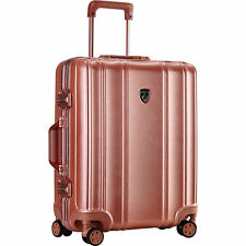 Travelers Club Donna 20 Inch Hardside Carry On Luggage Rose Gold HS-38120-RG