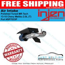 Injen Fits 13-15 Chevy Malibu 2.0L (T) Polished Tuned Air Intake MR Tech SP7033P