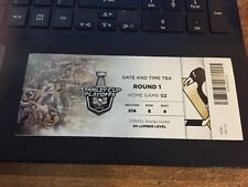 2016 PITTSBURGH PENGUINS VS NEW YORK RANGERS TICKET STUB PLAYOFFS GAME #2