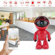 Robot 360° Wireless WIFI Camera IP HD CCTV 960P 1.3MP Home Security Baby Monitor
