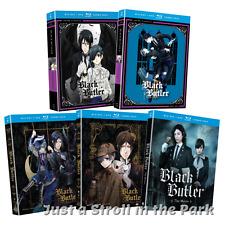 Black Butler: Complete Series Seasons 1 2 3 + OVA + The Movie DVD/BluRay Set(s)