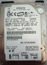 "Hitachi Travelstar De 20gb Hdd hts424020m9at00 13g1401 2.5 "" 4200rpm Ata/ide-Ref"