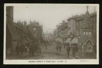 Beds LUTON George St Town Hall early RP PPC
