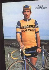 FRANS VERHAEGEN Cyclisme cp 70s IJSBOERKE COLNER Cycling ciclismo wielrennen pc