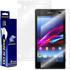 ArmorSuit MilitaryShield Sony Xperia Z1S Screen Protector + Full Body Skin! NEW!