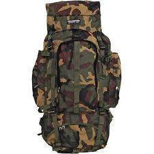 Camo Heavy-Duty Mountaineers Backpack, Mens Internal Frame Waterproof Day Pack