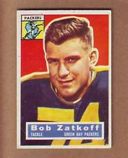 NICE 1956 Topps #67 Roger Zatkoff card - Green Bay Packers Michigan Wolverines