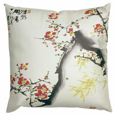Oriental Furniture Cherry Blossom Pillow