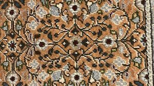 Beautiful Antique1920-1930's Wool Pile Natural Dye Legendary Hereke Rug 7x10ft