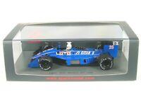 Ligier JS31 No.25 Monaco GP Formula 1 1988 (Rene Arnoux)