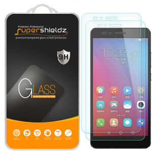 2X Supershieldz Tempered Glass Screen Protector Saver Shield for Huawei Honor 5X