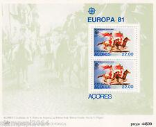 PORTUGAL / AZORES  S/ S EUROPA CEPT (1981)  MNH