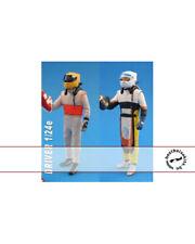 1/24 MODERN F1 DRIVER FIGURE SHAKING HANDS (2) TAMIYA