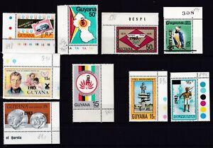 Guyana 890/899 postfr./mnh Aufdrucke 1983