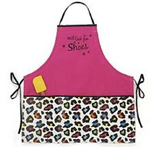 "~~ONE (1) ADORABLE ""WILL COOK FOR SHOES""  APRON - IMMEDIATE SHIPPIHG! B/A110~~"